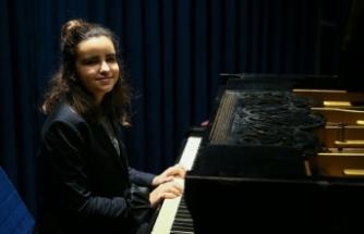 Genç yetenek dünyada Türkiye'yi temsil ediyor