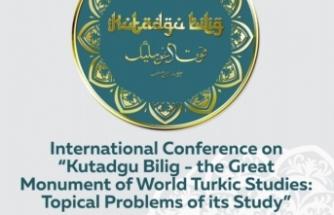 Uluslararası Bir Sempozyum: 'Dünya Türkolojisinin Büyük Abidesi Olan 'Kutadgu Bilig' eseri üzerindeki incelemelerin güncel sorunları'