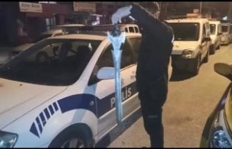 Ataşehir'de kılıçlı saldırı