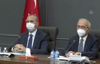 Bakan Elvan ve Bakan Gül, MÜSİAD yönetimiyle bir araya geldi