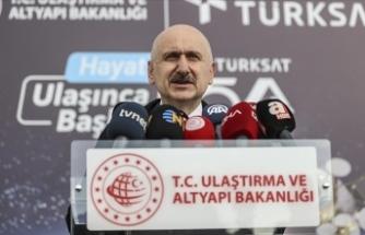 Bakan Karaismailoğlu'ndan Türksat 5A ve 5B müjdesi