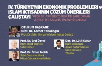 'Ekonomik Problemler ve İslam İktisadının Çözüm Önerileri Çalıştayı' başladı