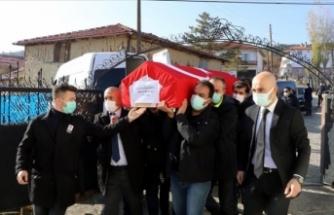 Mustafa Şentop'un koruma polisi Çankırı'da defnedildi