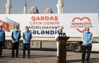 TDV'den Azerbaycan'a insani yardım