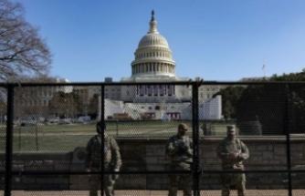 ABD Kongresine giriş çıkışlar kapatıldı