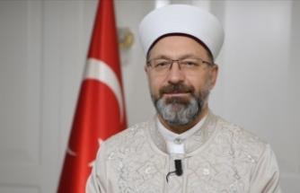 Ali Erbaş'tan TRT'ye Arap Camisi teşekkürü