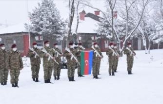 Azerbaycan askerleri Kars'a geldi