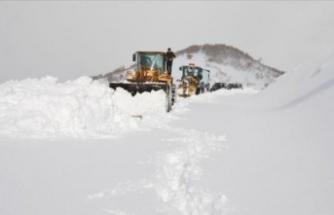 Bu illerde kış çetin geçiyor: 114 yol ulaşıma kapandı