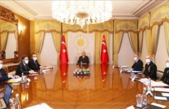Erdoğan başkanlığında Dış Politika Değerlendirme Toplantısı yapıldı