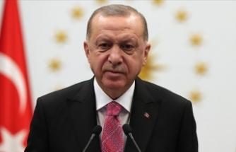 Erdoğan'dan şehidin ailesine taziye mesajı