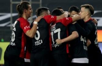 Gaziantep FK Kayserispor'a geçit vermedi
