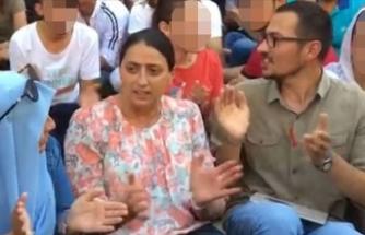 PKK'lı terörist ile HDP'li vekil aynı karede