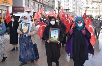 Şırnak'ta 'Kahrolsun PKK, iş birlikçi HDP' sesleri