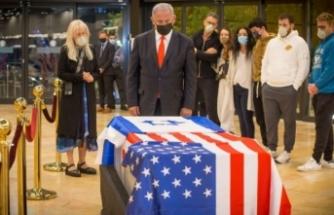 Yahudi Kral Sheldon Adelson'un cenazesi Kudüs'te