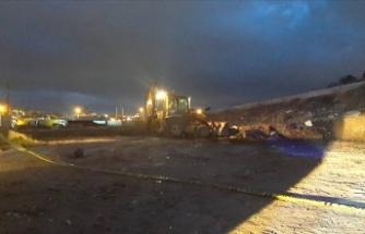 Ankara'da vahşet: Üzerlerine moloz dökmüşler