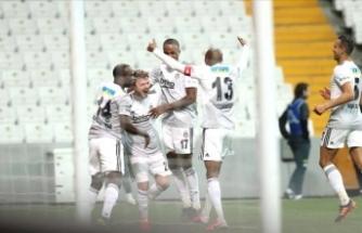Beşiktaş ilk yarıda bitirdi