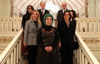 Emine Erdoğan'dan 'Sıfır Atık' görüşmesi