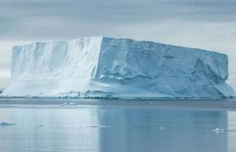 Korkutan olay: Buz kütlesi koptu