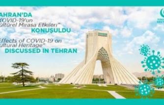 """Tahran'da """"Koronavirüs'ün Kültürel Mirasa Etkileri"""" tartışıldı"""