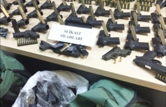 21 adrese silah kaçakçılığı operasyonu: Çok sayıda gözaltı