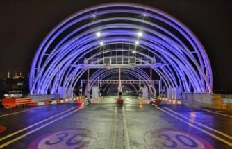 Avrasya Tüneli 4 yılda 4 milyondan fazla sürücüye hizmet etti