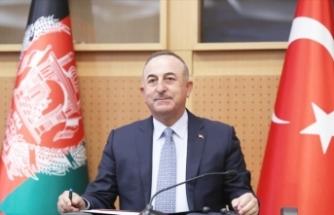 Çavuşoğlu: Afganistan'da kalmaya devam edeceğiz