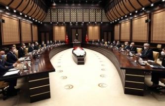 Erdoğan'ın başkanlık ettiği toplantı başladı