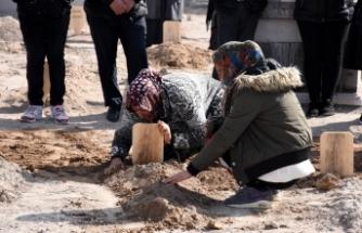 Evin çatısında cesedi bulunan kadın toprağa verildi
