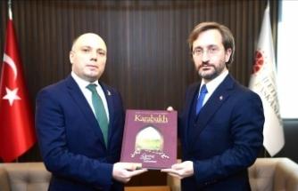 Fahrettin Altun Azerbaycan Kültür Bakanı ile görüştü