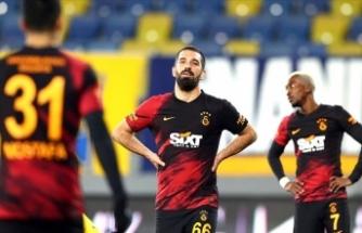 Galatasaray Ankara'da kayıp