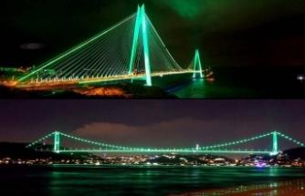 İki köprüde Yeşilay Haftası etkinliği