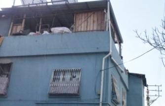 Kilim silkeleyen hamile kadın balkondan düştü