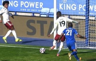 Leicester City galibiyeti koruyamadı
