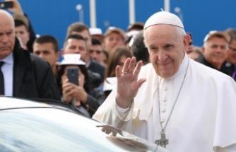 Papa'dan kızdıran mesaj
