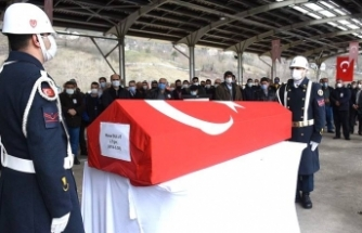 Teğmen'in cenazesi toprağa verildi