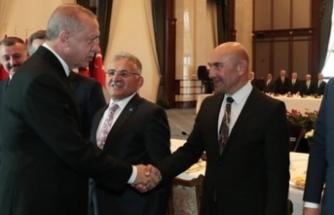 Tunç Soyer'den Cumhurbaşkanı Erdoğan'a teşekkür