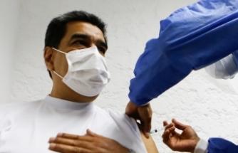 Venezuela Devlet Başkanı Maduro Rus aşısı oldu
