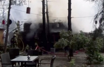Ümraniye'de yangın alarmı