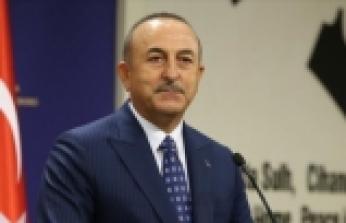 Dışişleri Bakanı Çavuşoğlu, Azerbaycan Dışişleri Bakanı Bayramov'la görüştü