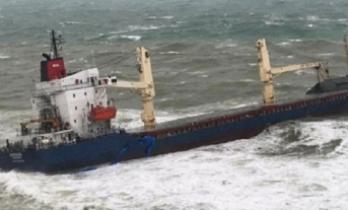 Şile'de kargo gemisi karaya oturdu; 16 mürettebat mahsur kaldı