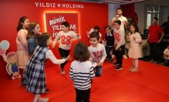 Yıldız Holding'de 23 Nisan Çocuk Bayramı kutlaması