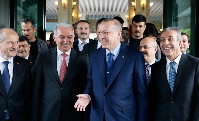 Erdoğan'dan İBB'ye ziyaret