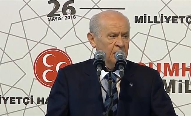 MHP de seçim beyannamesini açıkladı