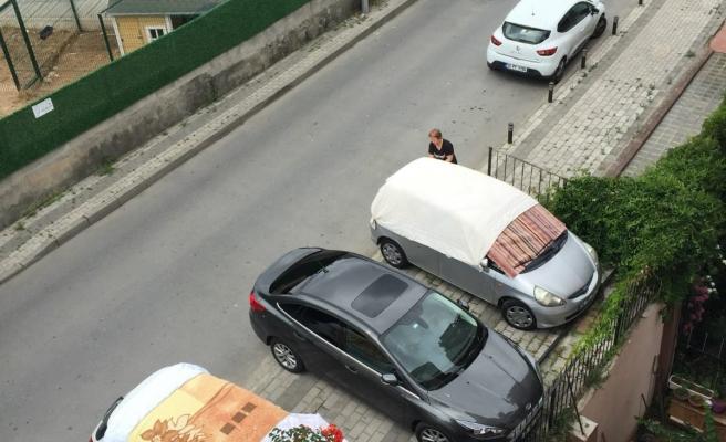 İstanbul'dan doluya hazırlık manzaraları