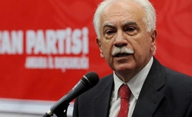 Perinçek: ABD'ye karşı mücadele eden Erdoğan'ın yanındayım