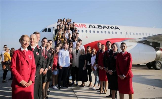 Air Albania ilk uçuşunu Türkiye'ye gerçekleştirdi
