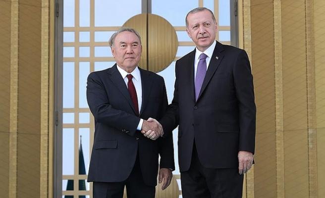 Nazarbayev ve Erdoğan'dan önemli açıklamalar