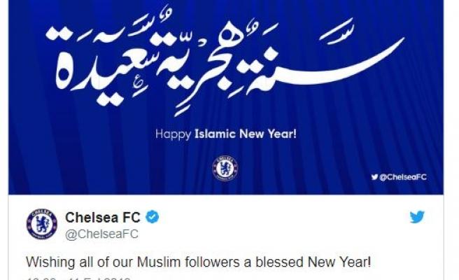 Chelsea'den hicri yeni yıl paylaşımı