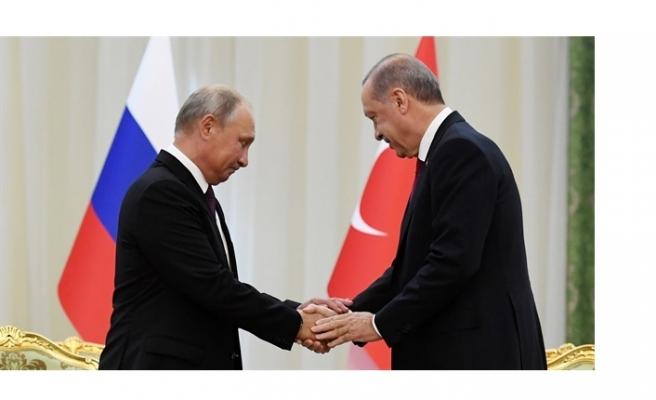 Erdoğan ve Putin pazartesi görüşecek