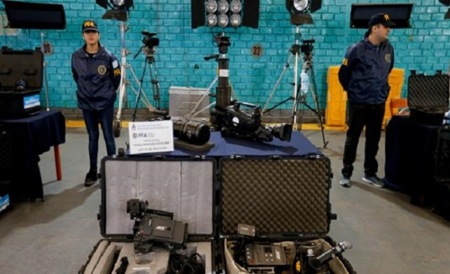 Hollywood'un çalıntı malları Arjantin'de çıktı